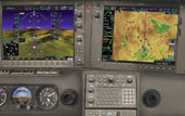 cirrus avidyne r9 and garmin perspective glass suites at woodland aviation