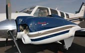 authorized service center for hawker beechcraft bonanza, baron, G58, G36 in Sacramento area